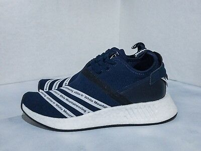 bded312f3 ADIDAS WHITE MOUNTAINEERING Navy NMD R2 Size 7 BB3072 -  150.00 ...