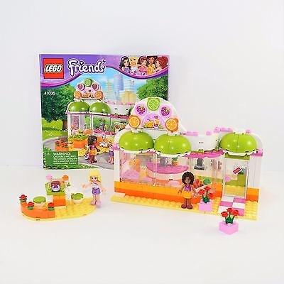 USED 41035 HEARTLAKE JUICE BAR LEGO friends set - $15.00 | PicClick
