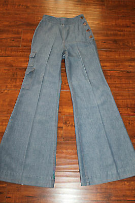 Women's Vintage Levi's High Waist Bell Bottoms Size 23x30