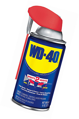 WD-40 Multi-Use Product - Multi-Purpose Lubricant with Smart Straw Spray. 8 oz.