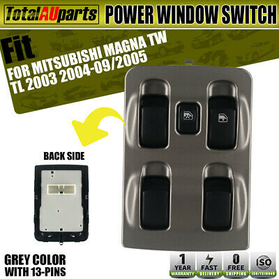 Power Master Main Window Switch for Mitsubishi Magna TL TW 2003-2005 MR932795