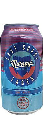 Murray's East Coast Lager 24 x 375mL Cans Craft Beer