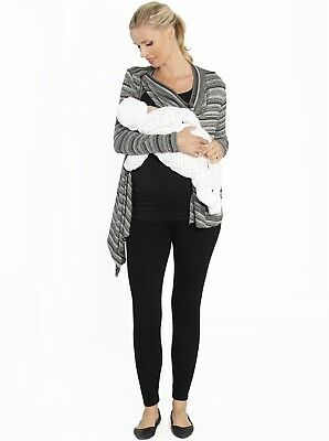 Breastfeeding Tank and Maternity Legging Sets - 3 Piece Outfit