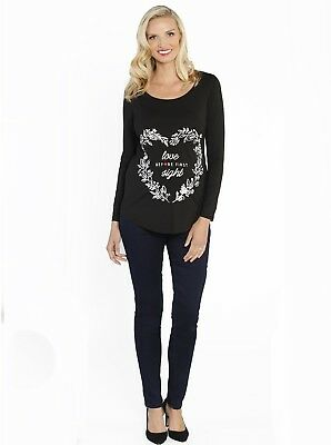 Maternity Outfit: Perfect Mother's Day Jeans & FREE Slogan Tee Set
