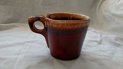 751c3dc678a 4 ANTIQUE VINTAGE Hull Pottery Brown Drip Coffee Mugs Cups - $25.00 ...