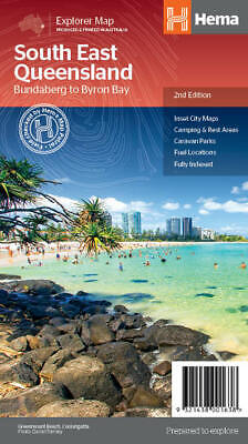 Hema South East Queensland Regional Map 2Nd Edition