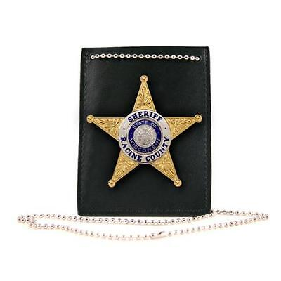 Neck Chain, Badge/Id, Plain, P Id/Badge Holder W/Chain.Not Recessed. Pl .