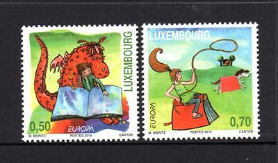 Luxembourg 2010 Europa Children's Books Set 2 MNH