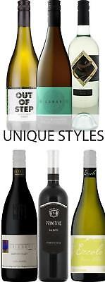 Unique Styles Red White Wine Mixed Case 6 x 750mL bottles