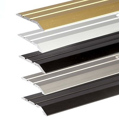 ANODISED ALUMINIUM DOOR FLOOR BAR EDGE TRIM THRESHOLD RAMP 900 x 30mm A01