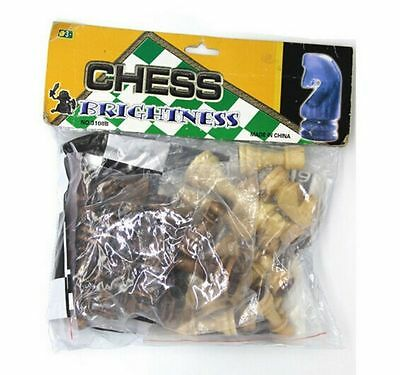 32 Pieces Small and Normal Chess Set Popular wooden Contemporary Chess