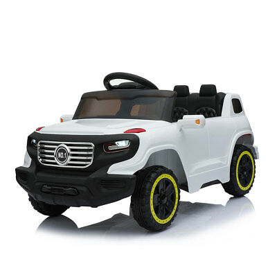 6V Ride On Car Suv Kids W/ MP3 Electric Battery Power RC Remote Control White