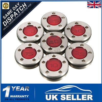 10-40g Red Multi Gram Numeral Golf Putter Weight For Titleist Scotty Cameron UK