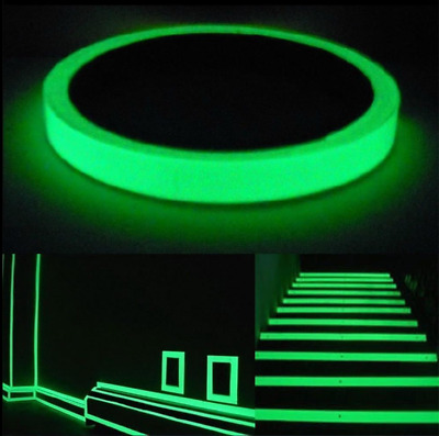 Glow In The Dark Luminous Fluorescent Night Self-adhesive Safety Sticker Tape