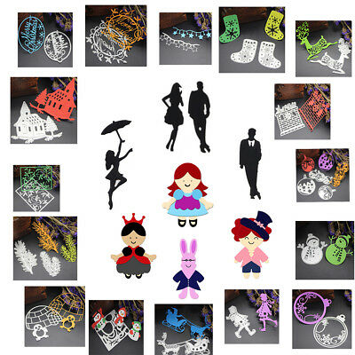 75 Model Stencil Cutting Dies DIY Scrapbooking Album Tagebuch Stanzschablone