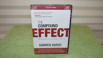 The Compound Effect Enhanced Audio Program by Darren Hardy (6 CDs).
