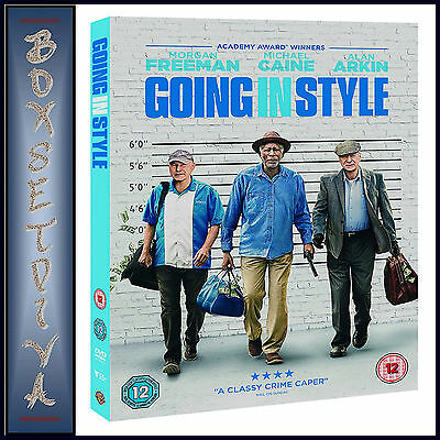 GOING IN STYLE -  Morgan Freeman & Michael Caine  *BRAND NEW DVD***