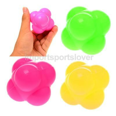 4Pcs Precision Training Silicone Agility Reflex Speed Reaction Ball