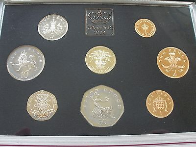 1984 PROOF SET - 8 COINS - aFDC - UK POST FREE