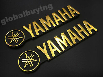 Motorcycle 3D ABS Fuel Gas Tank Fairing Badge Emblem Decal Sticker For YAMAHA