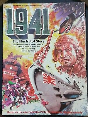 1941 - The Illustrated Story, film by Steven Spielberg Arrow Books