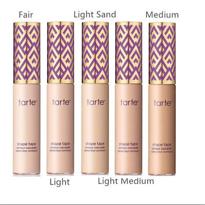 TARTE SHAPE TAPE CONTOUR CONCEALER 10ML - CHOOSE YOUR SHADE 1st Class UK STOCK