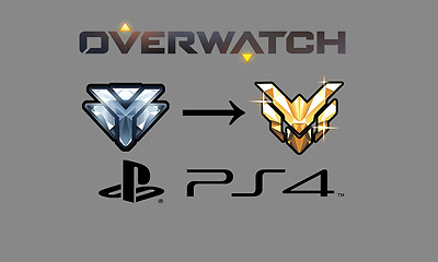 Overwatch Account Boost PS4 DIAMOND to MASTER (1- 3 DAY DELIVERY)