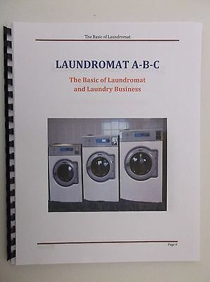 Laundromat A-B-C, The Basic of Laundromat and Laundry Business