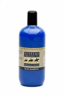 Supreme Products bleu Shampoing 500ml - Cheval / poney soin