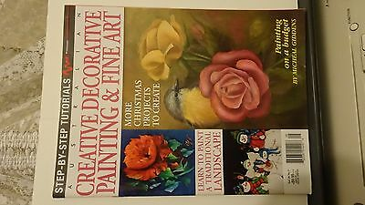 Australian Creative Decorative Painting & Fine Art magazine - Vol.20 No.5