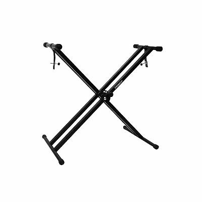 ChromaCast Pro Series Double Braced X-Style Keyboard Stand with Locking S... New
