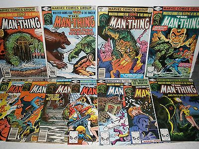 Marvel Comics Man-Thing vol.2 # 1 2 3 4 5 6 7 8 9 10 11 High Grade Set 8.0-9.2