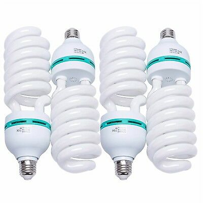 150W Photography Compact Fluorescent CFL Daylight Balanced Bulb With 5500K For