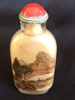 19th Century Reverse painted Snuff Bottle