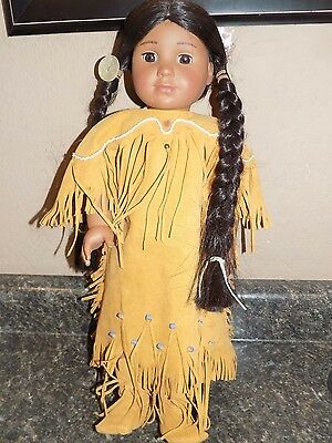 Pleasant Company American Girl Kaya Indian Doll in Meet Outfit