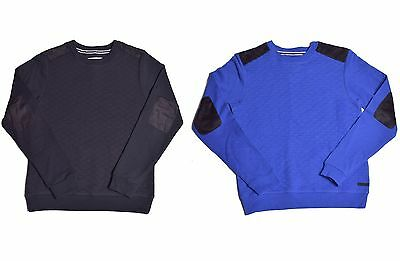 Sean John Boy's Quilted Sweatshirt Long Sleeve Sweater Shirt Choose Color & Size