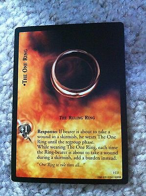 The Lord Of The Rings Card The One Ring 1C2