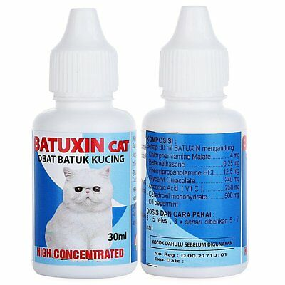 BATUXIN - CATS 30 ml - High Concentrated Cold Cough Alergy Treatment for PET