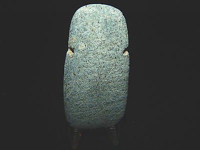 Pre-Columbian Jade Ceremonial Pendant,  Authentic, Costa Rica