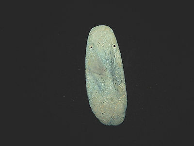 Pre-Columbian Jade Pendant Celt,  Authentic, Costa Rica