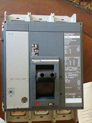 Square-D/ Schneider Electric 800 Amp PowerPact Circuit Breaker | Pg 800