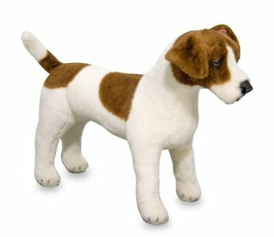 Jack Russell Terrier Stuffed Animal Dog Soft Doll Plush Toy Durable Kid Gift NEW