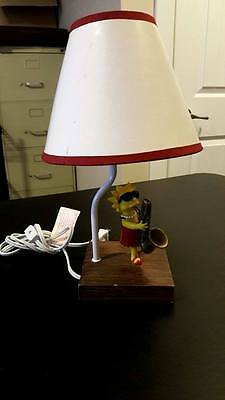 The Simspsons Lisa Saxaphone Lamp -- Actual item pictured