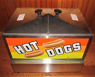 Hot Dog And Bun Steamer  Steamin Deman 8007 By Goldmedal Products