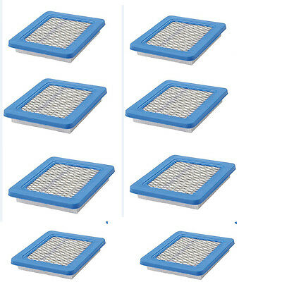 8pcs Lawn Air Filters For Briggs & Stratton 491588 491588S 5043D 399959 119-1909