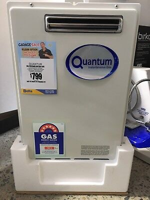 20L Quantum Continuous Flow Gas Hot water System QI-6S20NG