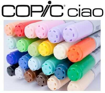Copic CIAO Markers (Your Choice of Any 24 Markers)