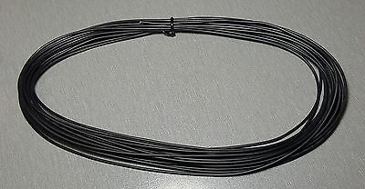 10 Metres Black UL-1007 Hookup Wire 22AWG 1.6mm PVC insulator