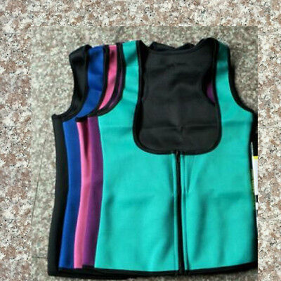 Slim Fit Waist Belt Body Shaper Ultra Sweat Sports Weight Loss Sauna Vest Corset