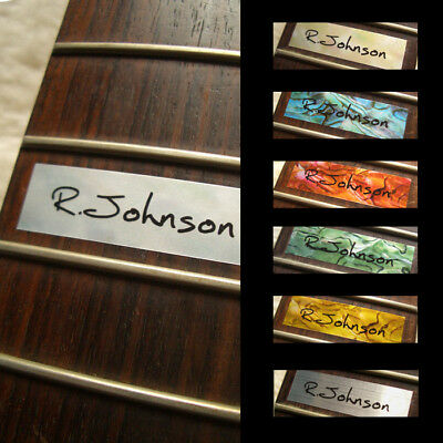 Custom-Made 12th Fret Marker Inlay Sticker For Guitar